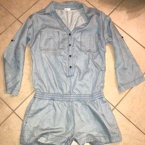 AG jeans denim romper